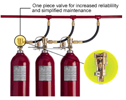 Fike CO<sub>2</sub> Fire Suppression System