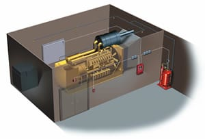 Micromist Fire Suppression System
