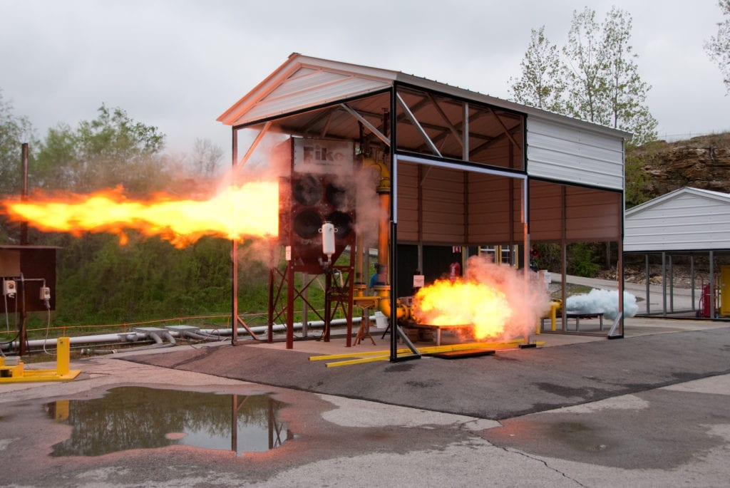 Demonstration tests performed by Fike Corporation (USA)
