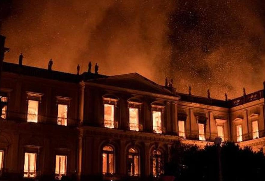 National Museum of Brazil Fire dient als kostbare herinnering