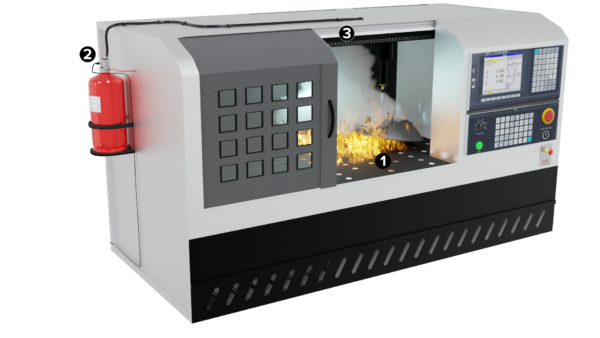 Small Space Suppression for CNC Machines