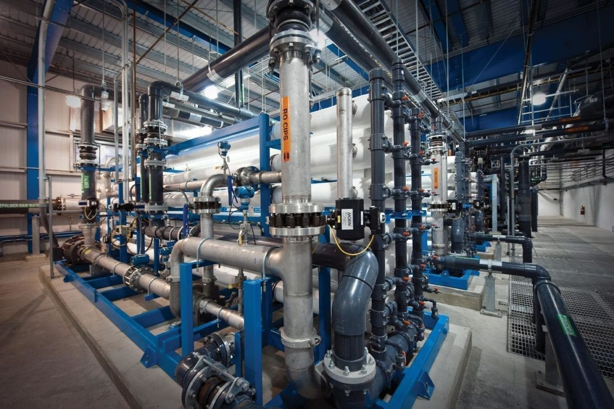 desalination plants require pressure protection of many kinds including vacuum pressure relief and activation