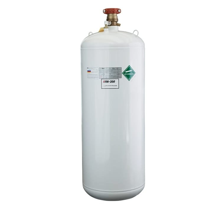 FM 200 Clean Agent Fire Suppression System HFC 227