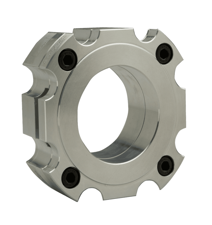 pretorqueable rupture disc holder
