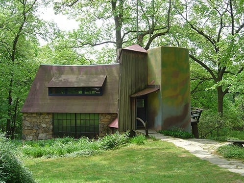 Wharton Esherick is a one of a kind art studio that requires reliable fire protection that won't put to risk any of his fine arts with water or chemical damage