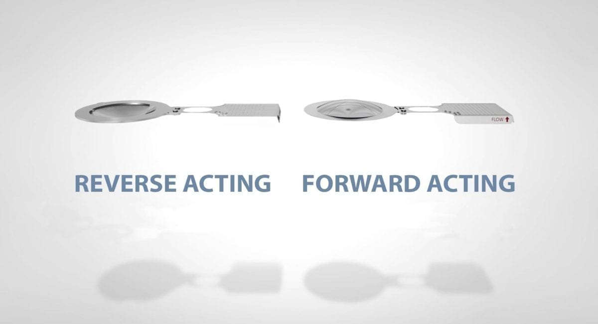 Differences Between Forward-Acting and Reverse-Acting Rupture Discs