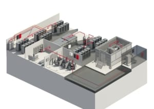 data centers require special fire protection solutions that can be called upon quickly and reliably to protect critical assets at great risk for damage from smoke and water