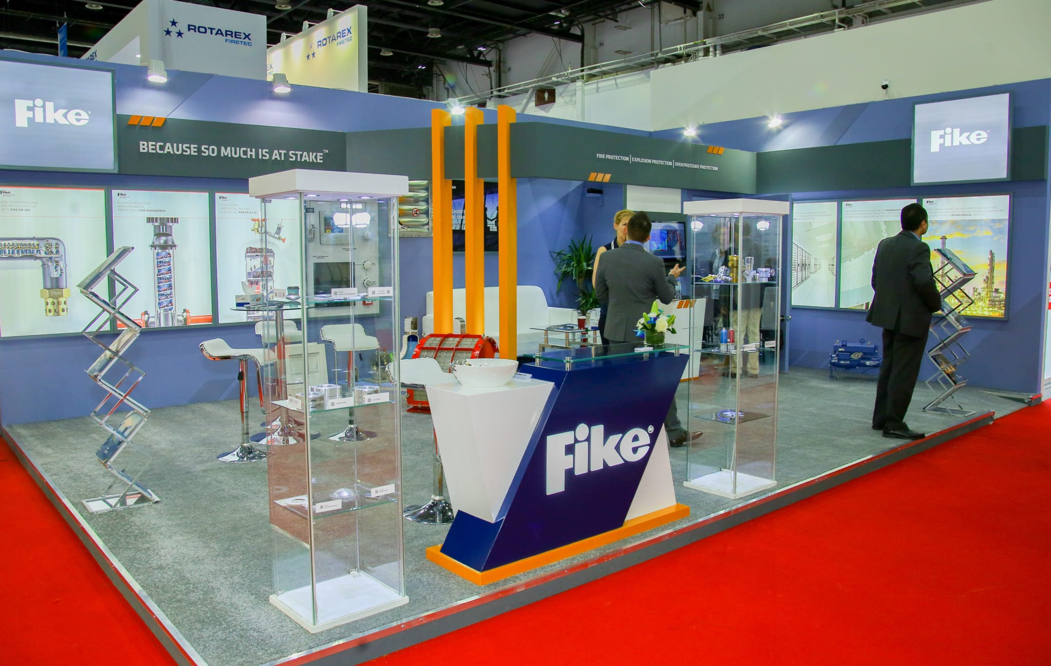 Fike Corporation exposeert op Intersec Expo 2020 in Dubai, VAE