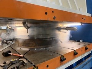 "Production of Fike 42"" Atlas Rupture Disc"